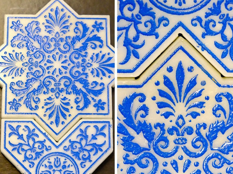 Отделка декоративной плиткой: какую выбрать и как использовать