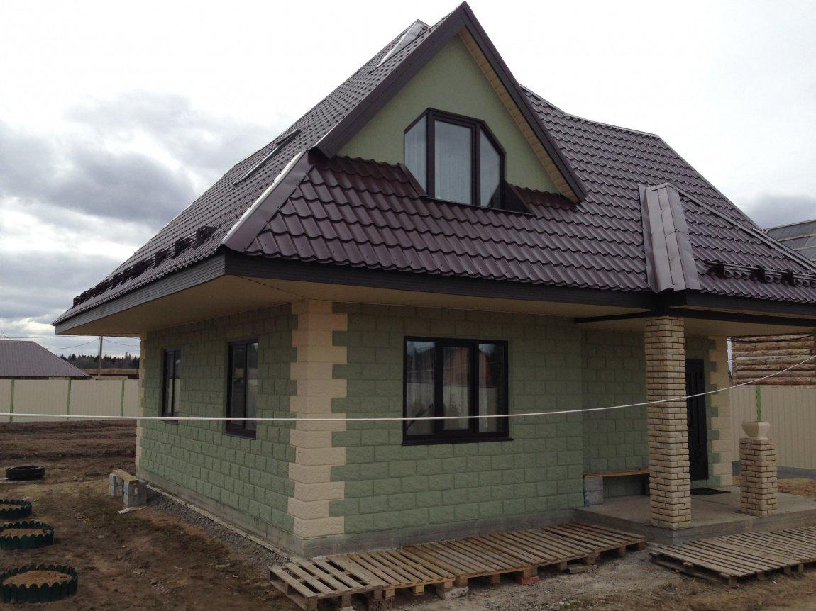 дом из теплостена фото зиму проносишь ноги