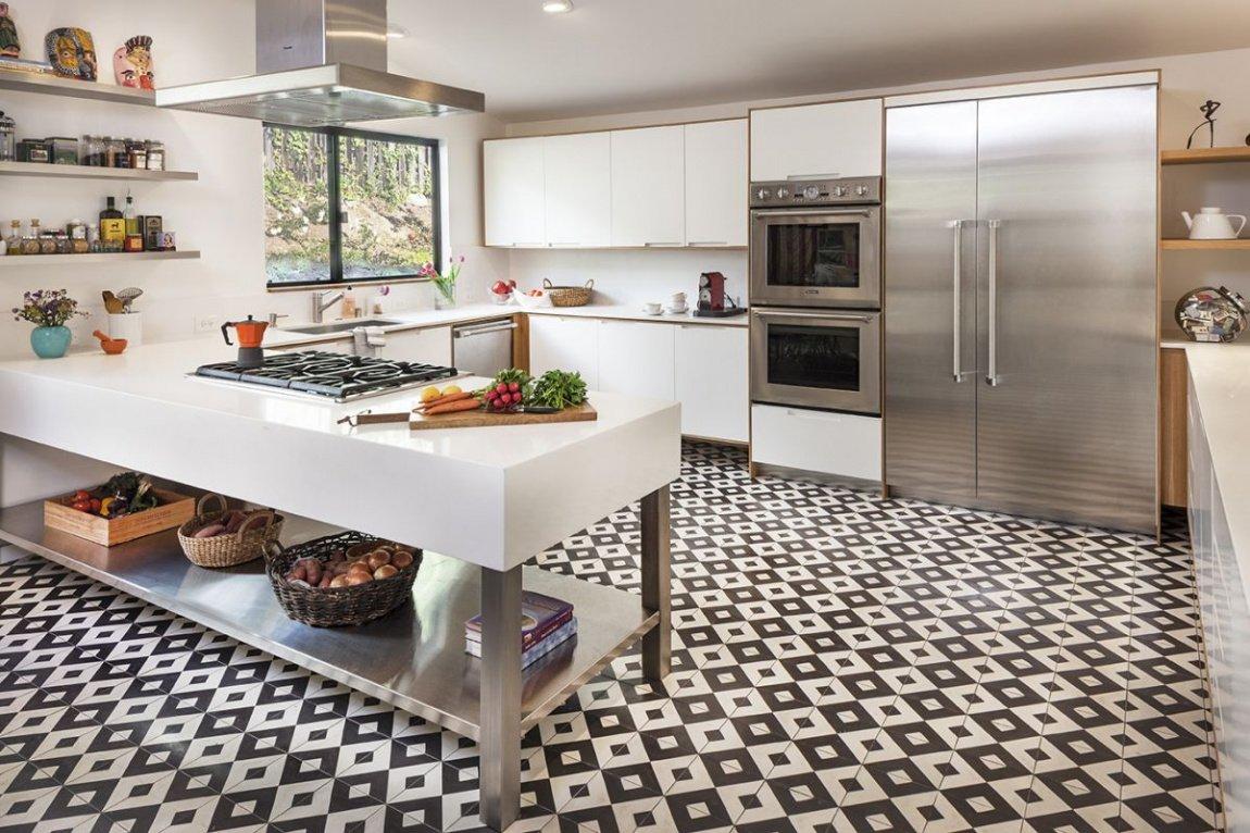 Какой пол лучше положить на кухне?