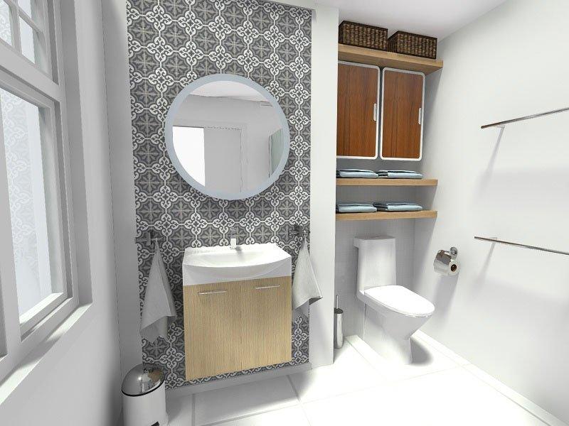 Как выбрать плитку для маленькой ванной комнаты?