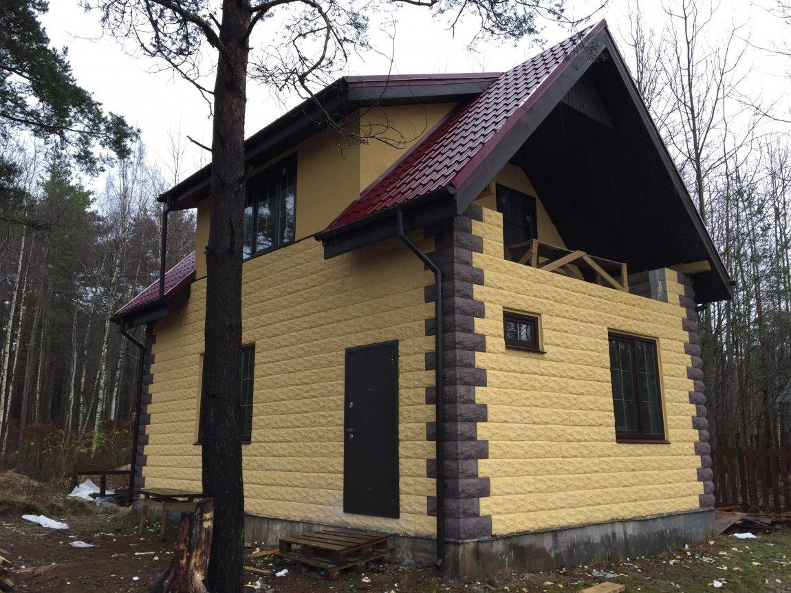 являются дом из теплостена фото оформление дверей подходит