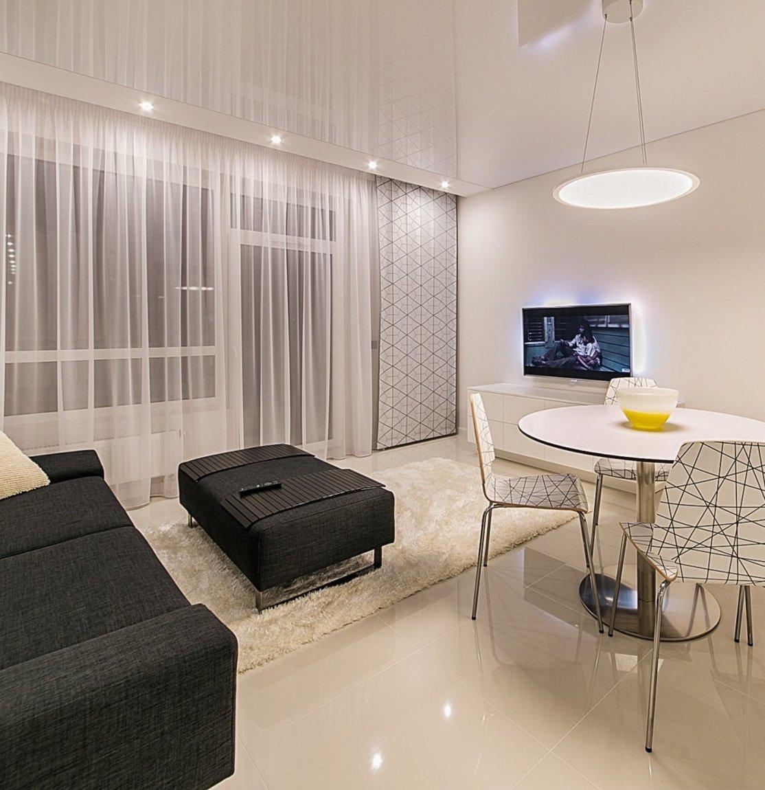 маленькая квартира дизайн интерьера
